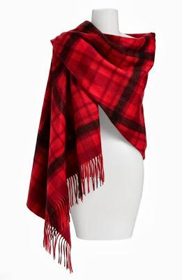 Plaid-Woven-Cashmere-Wrap