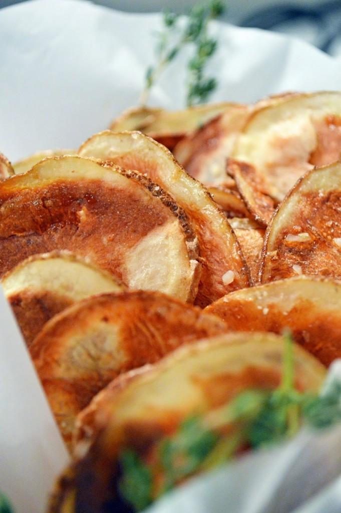 how to make crispy baked potatoes