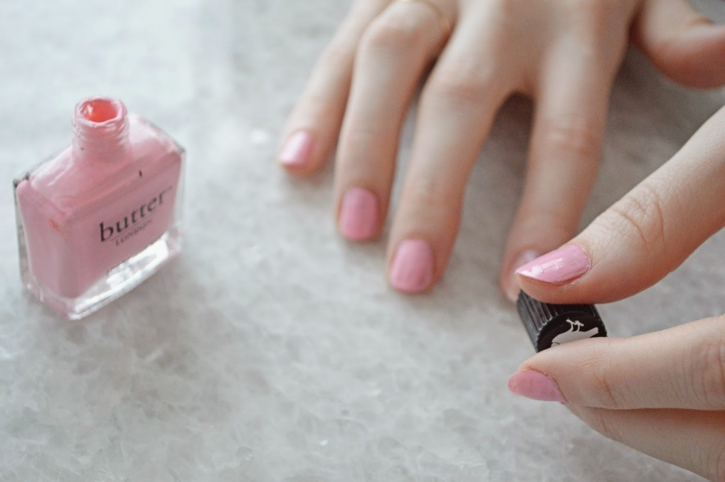 pink Butter London nail polish