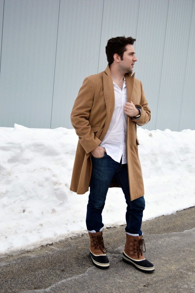men's classic rugged winter outfit
