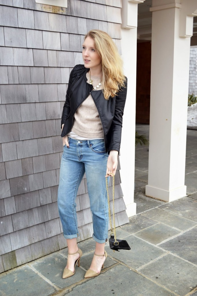 women's classic casual winter outfit