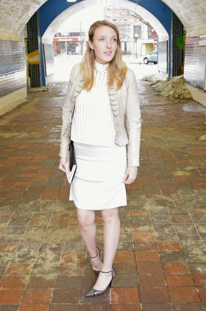women's all white fashion for spring