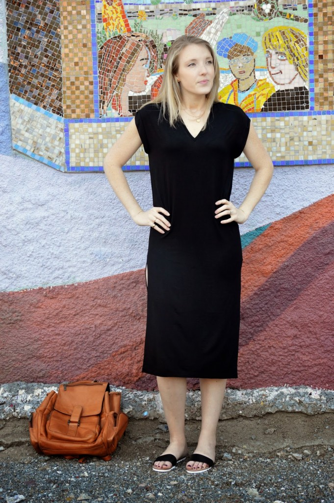 all black spring outfit women's fashion