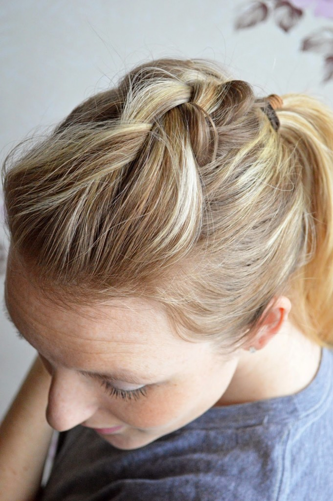 french braid medium hair