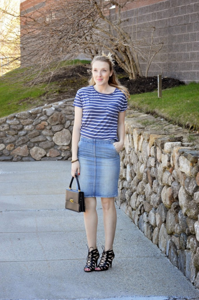 women's casual spring outfit