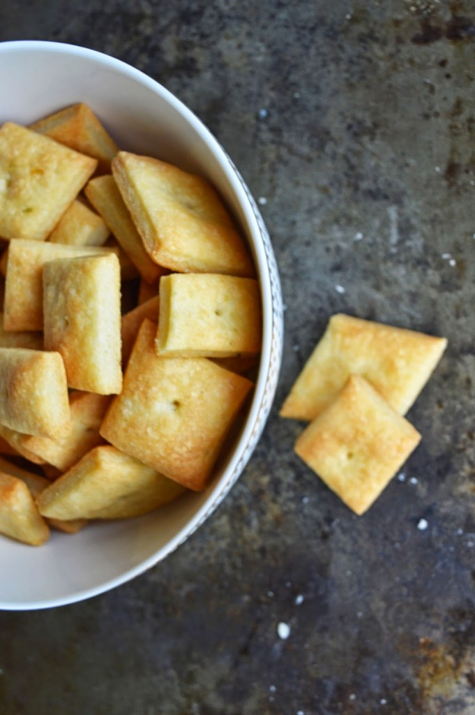 simple homemade cheese cracker recipe