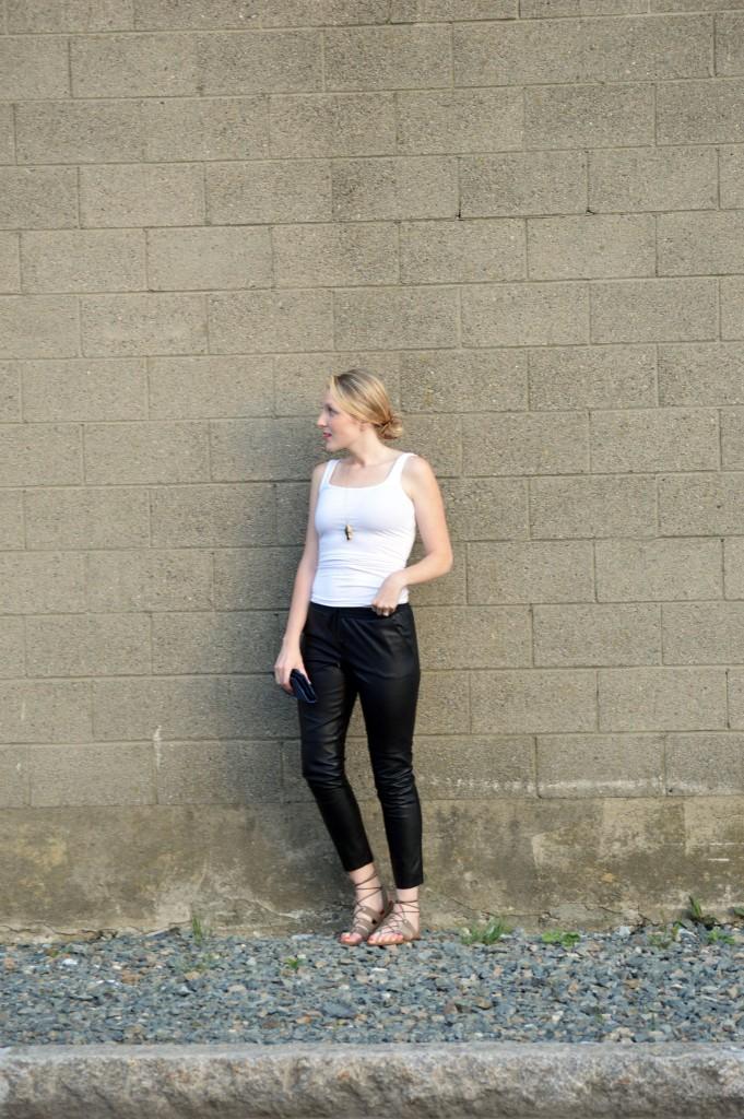 leather pants Trina Turk