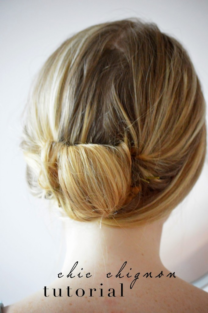 step by step hair tutorial with images easy chignon bun