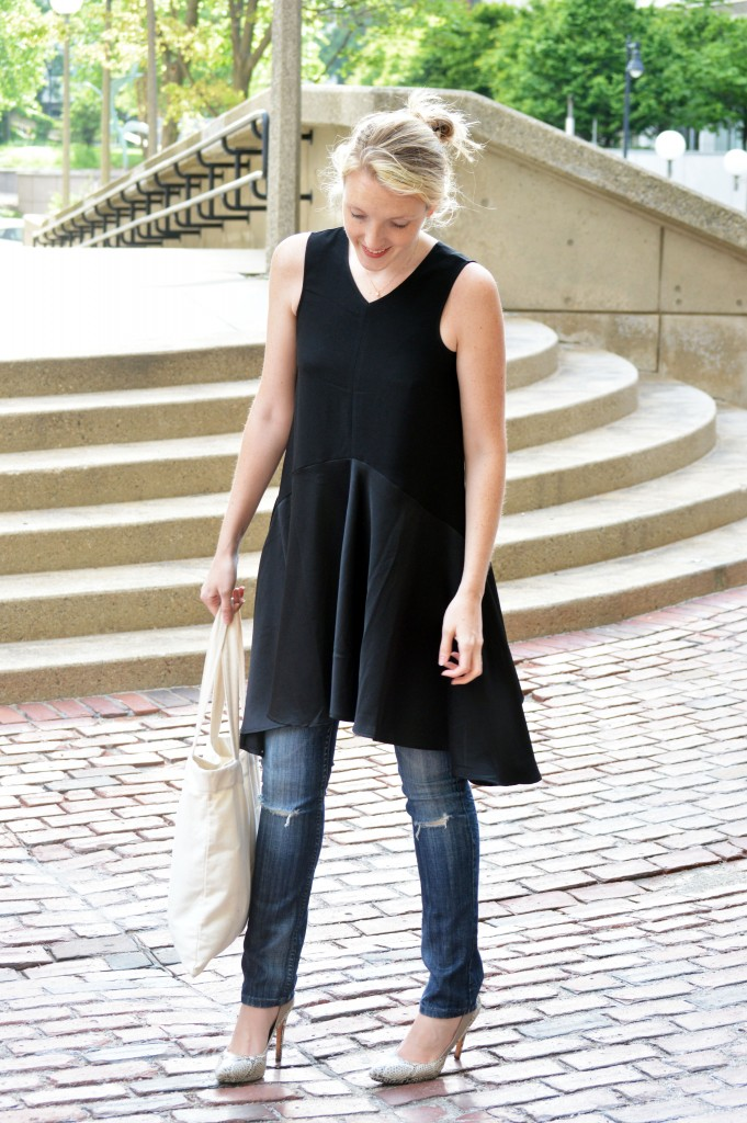 simple spring summer casual outfit