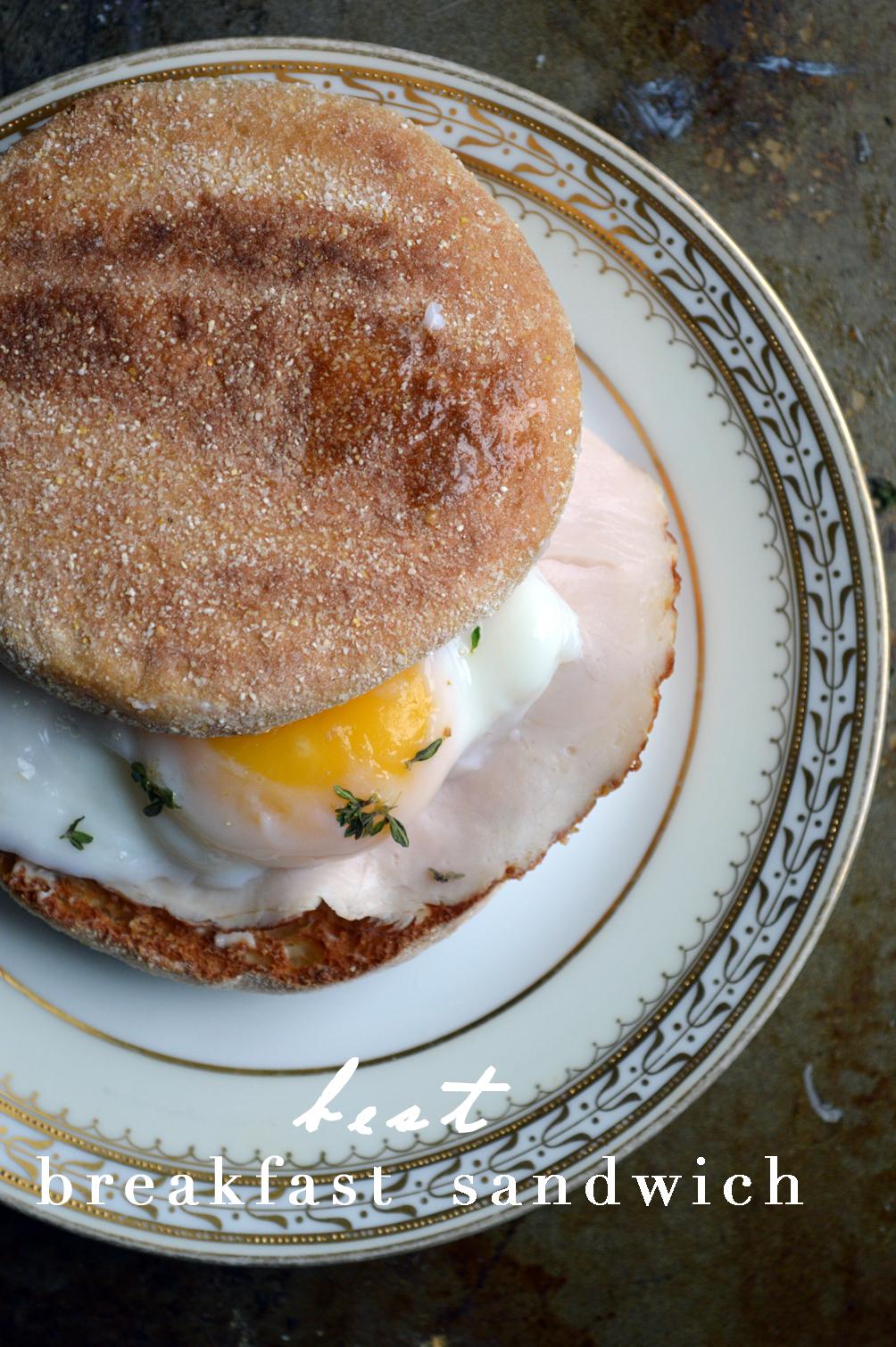 easy recipe for the best turkey breakfast sandwich
