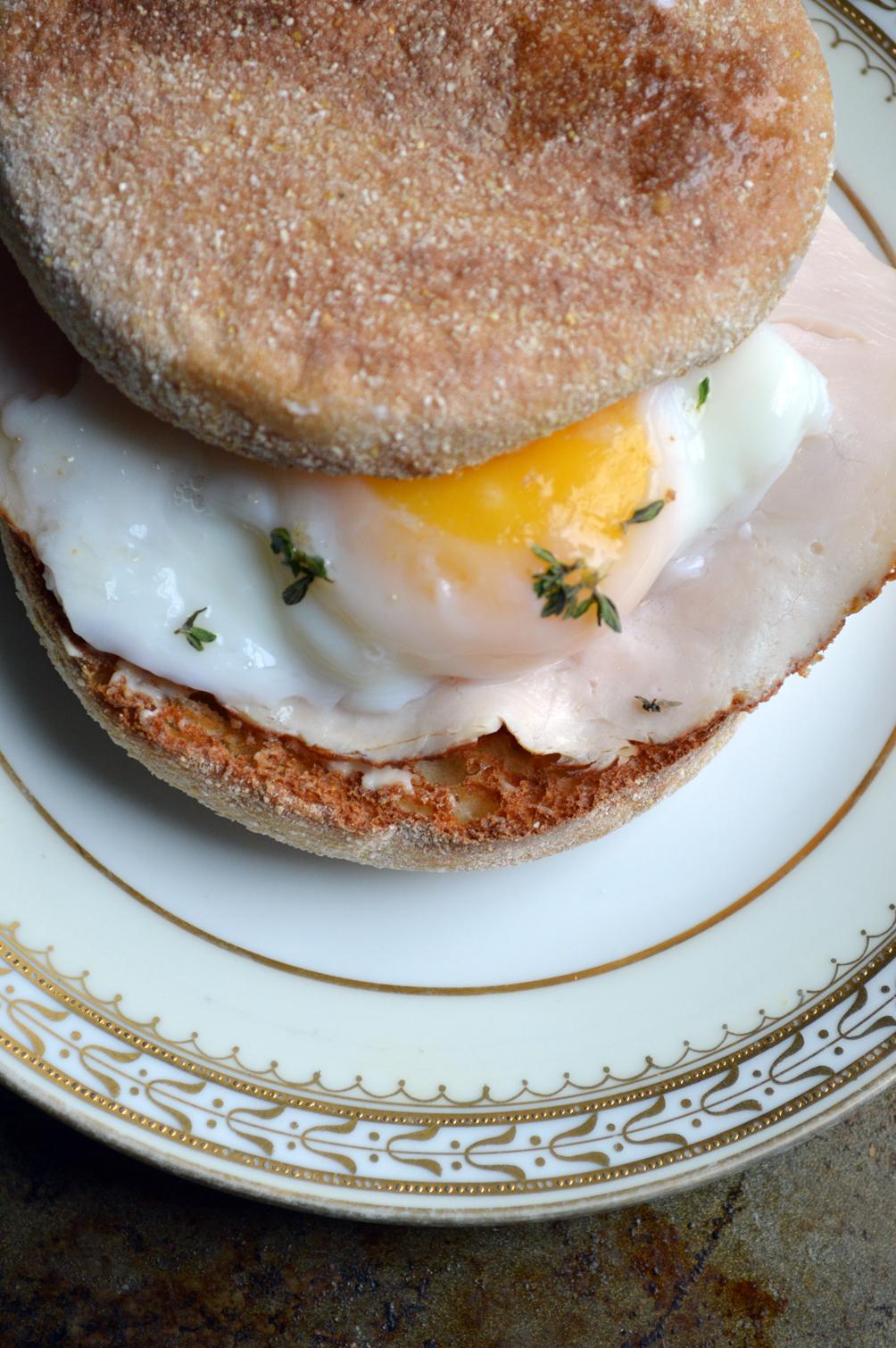 the best turkey breakfast sandwich ever