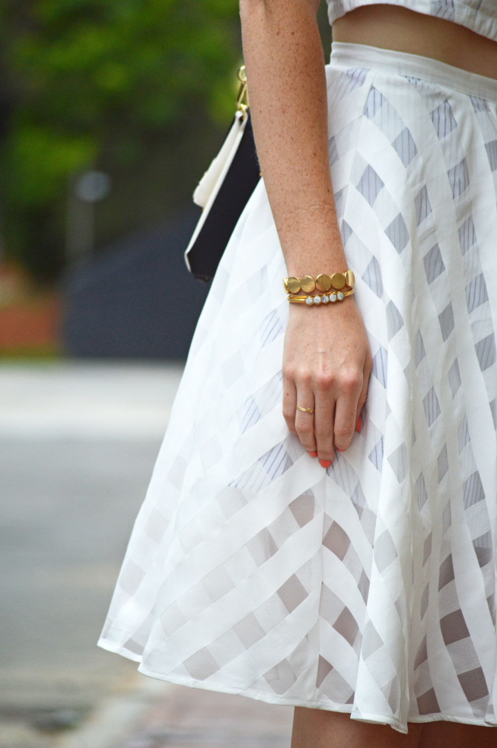 dainty gold stacked jewelry