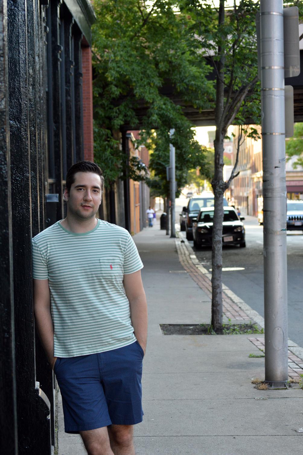 men's Ralph Lauren stripe t-shirt