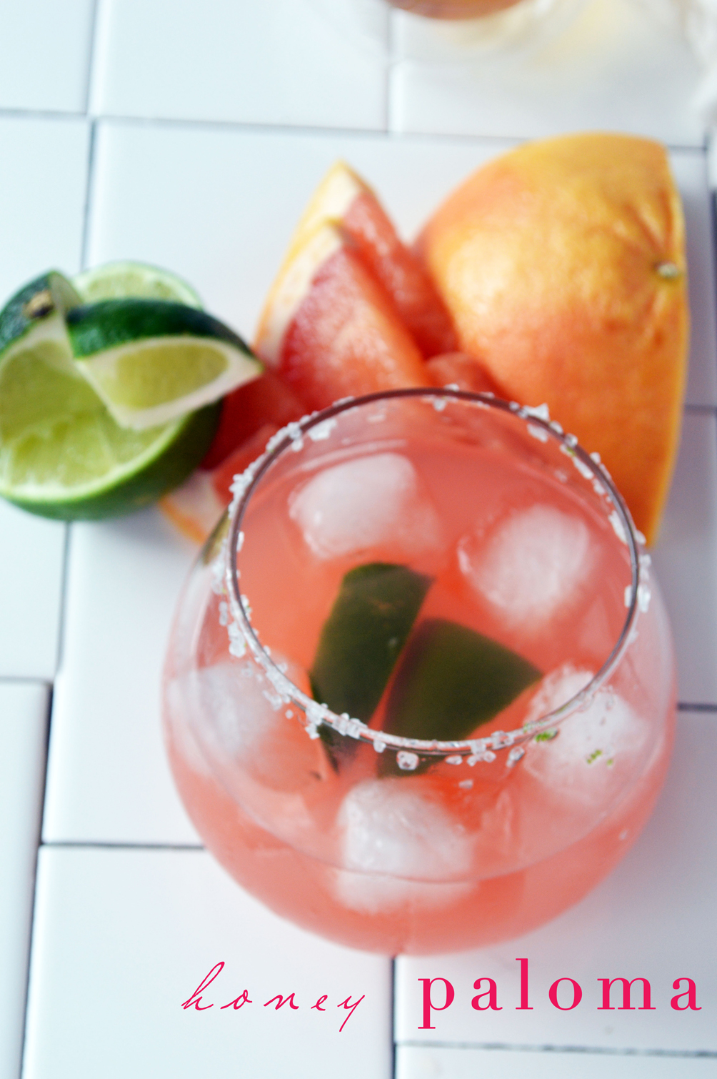 honey paloma summer cocktail recipe