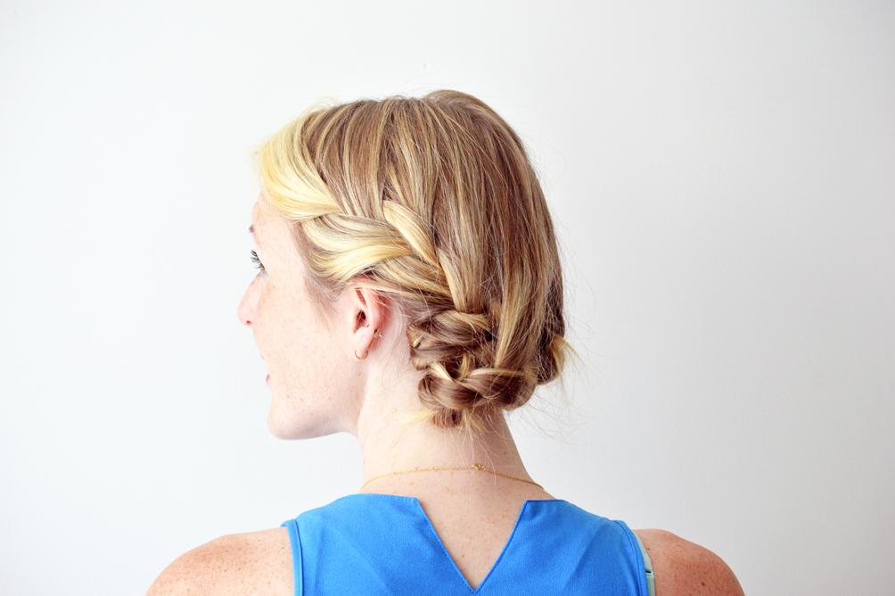 milk braid hair tutorial in three easy steps