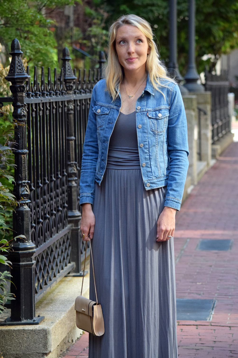 21aaab805e the perfect maxi dress from summer to fall fall outfit inspiration maxi  dress by Brass ...