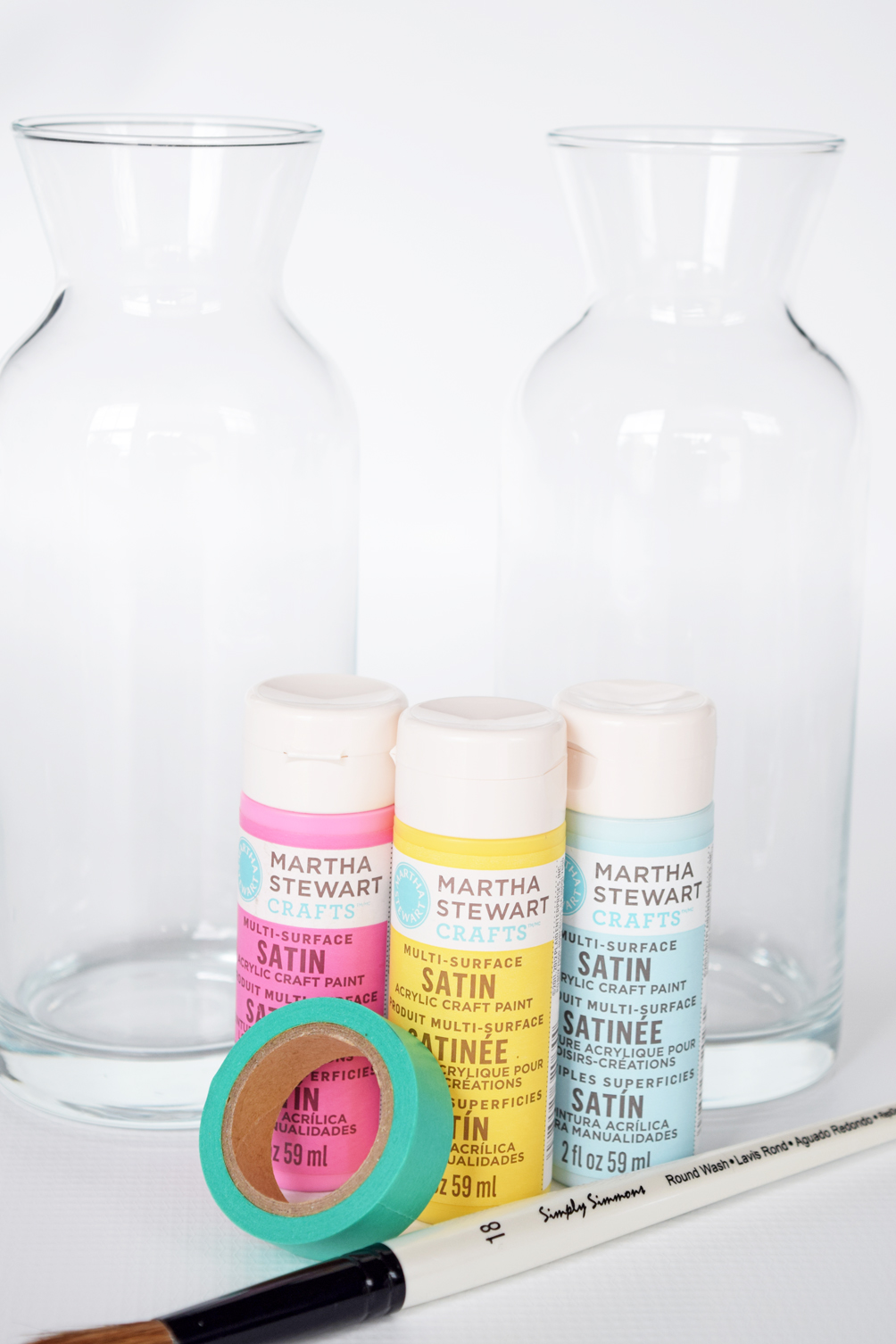 Martha Stewart craft paint project ideas