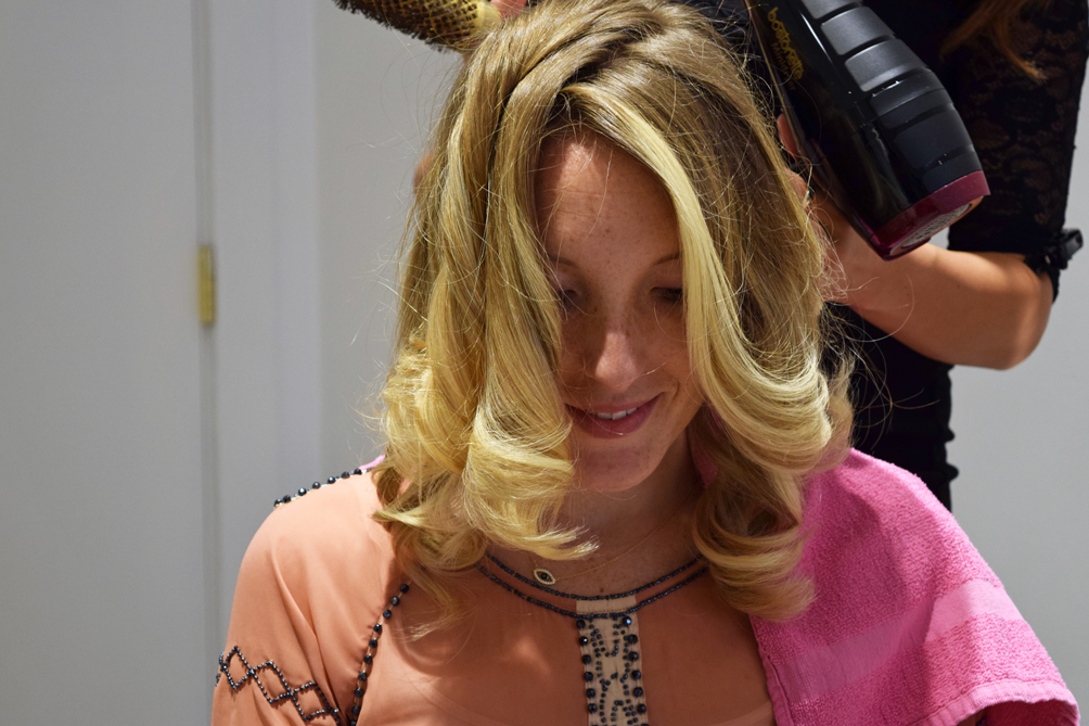 how to get a salon blowout at home