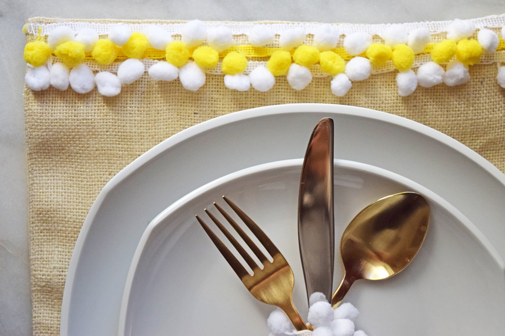 easy DIY placemat