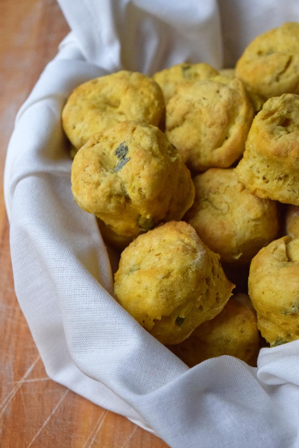 pumpkin sage biscuits recipe