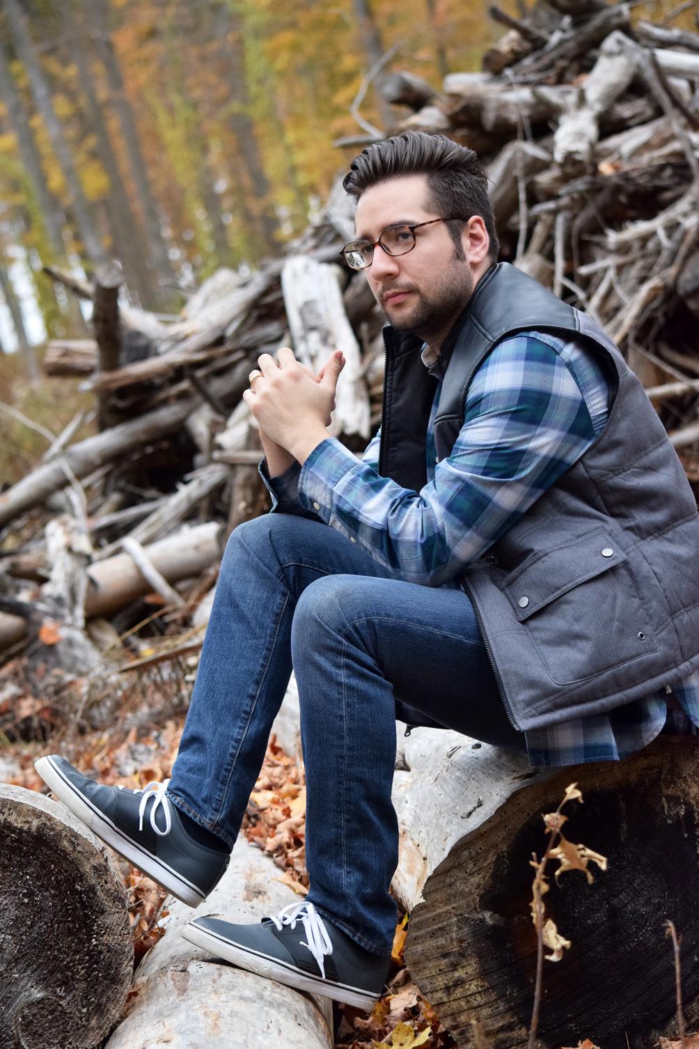 men's plaid fall fashion
