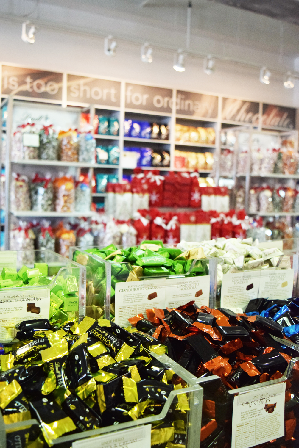 Lindt Chocolate Store