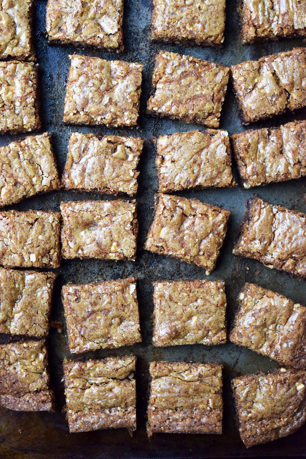 the perfect blondies recipe
