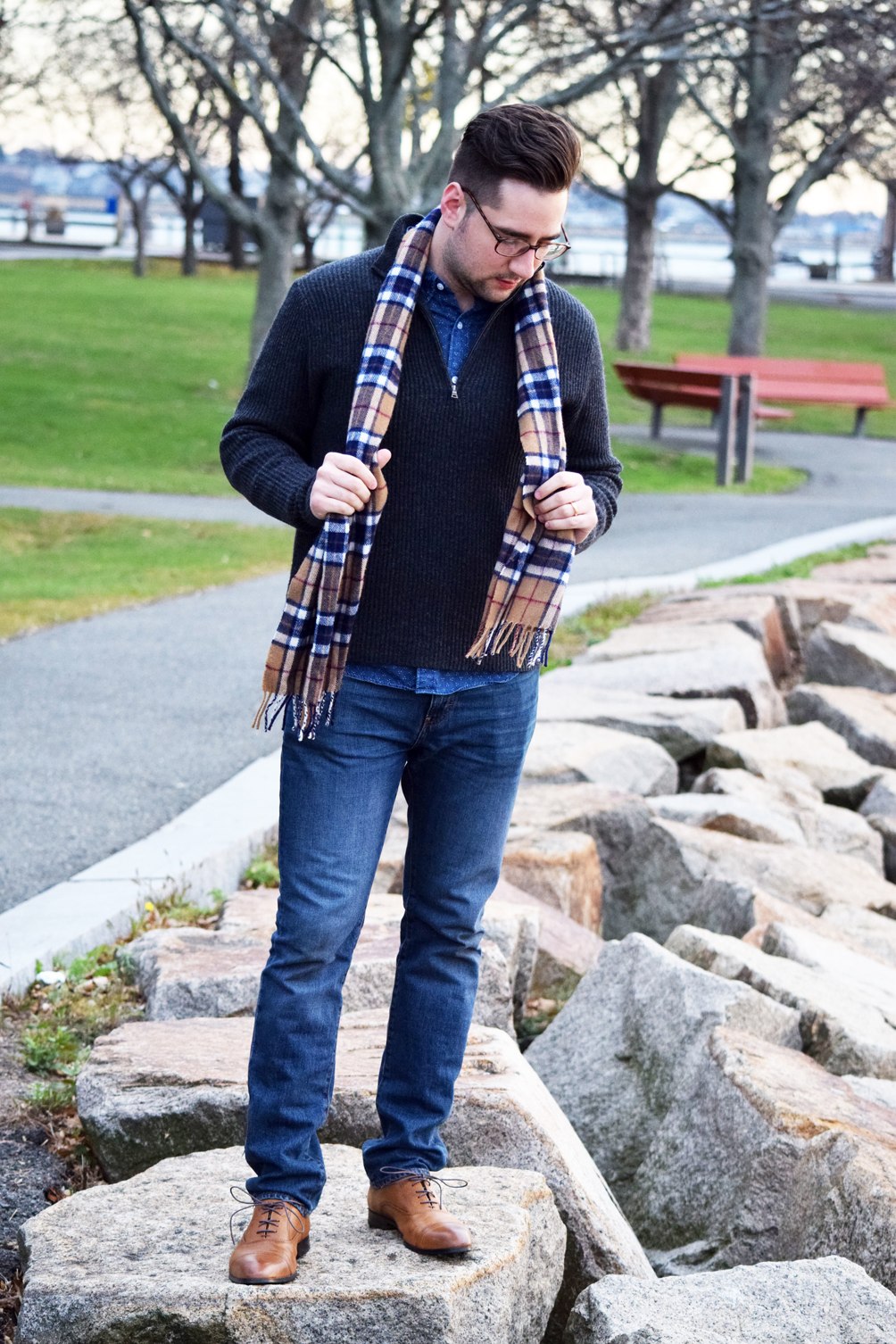 his style for fall winter fashion - one brass fox