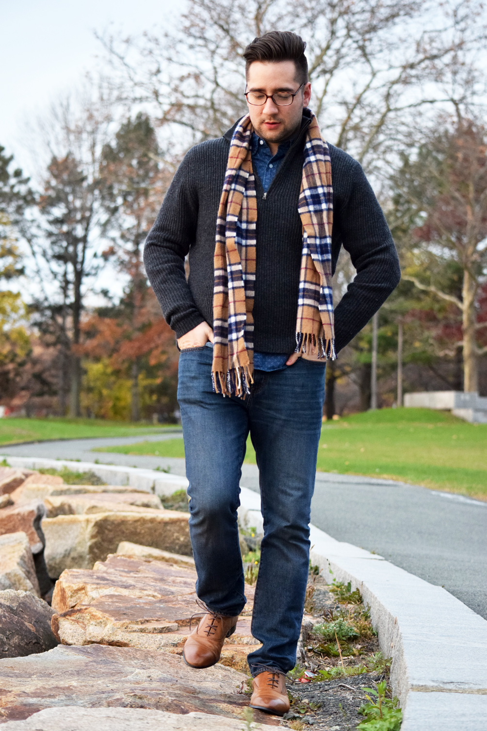 men's classic fall and winter outfit inspiration