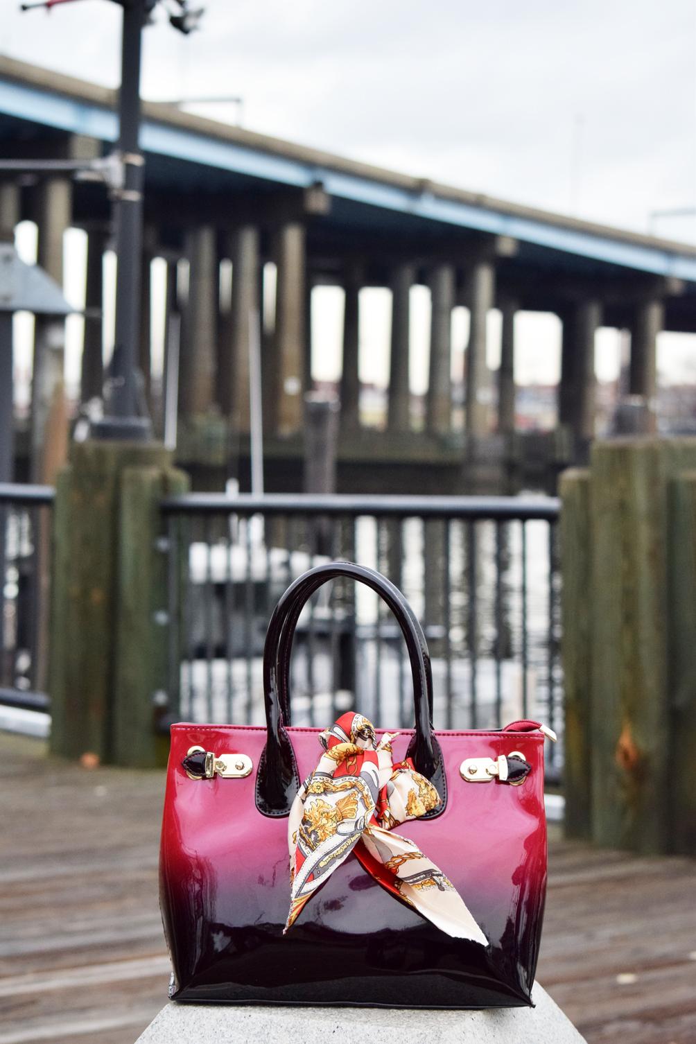 ombre Scarleton handbag