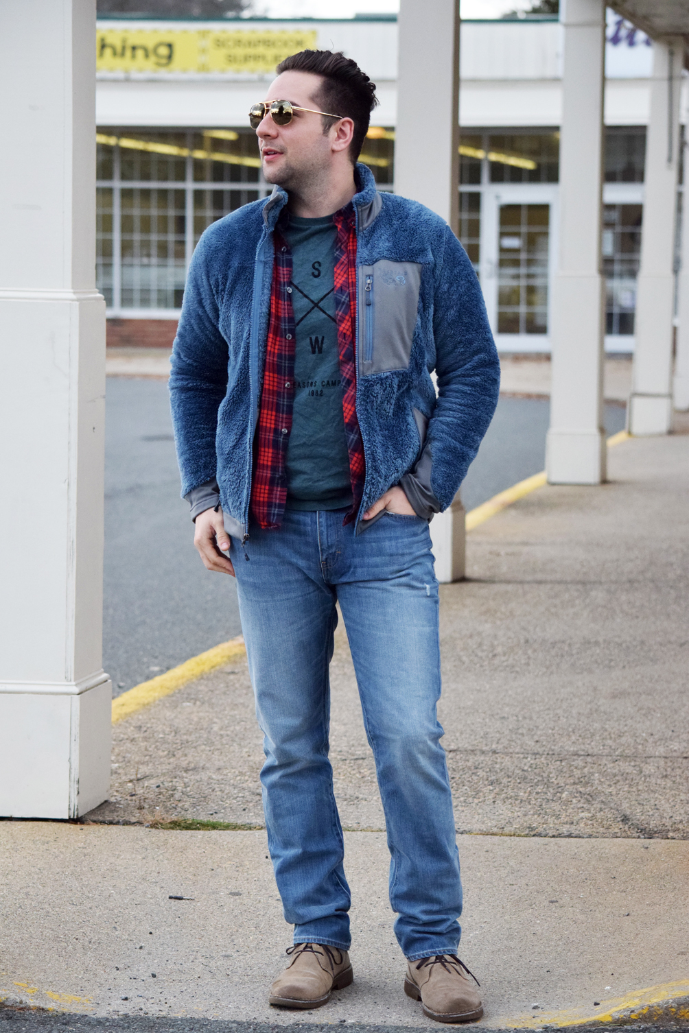 casual and cozy men's fashion ideas