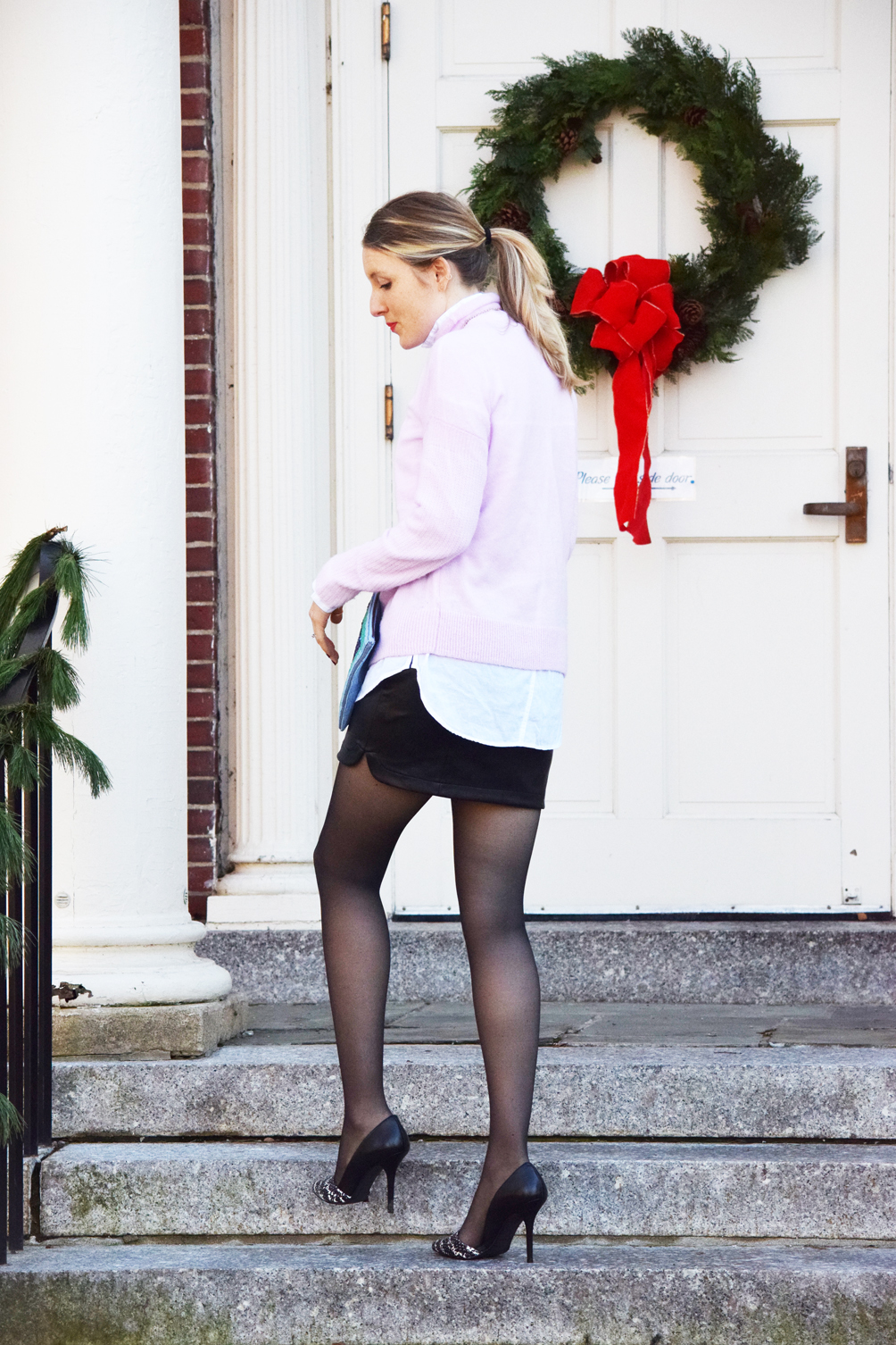 chic holiday style - one brass fox