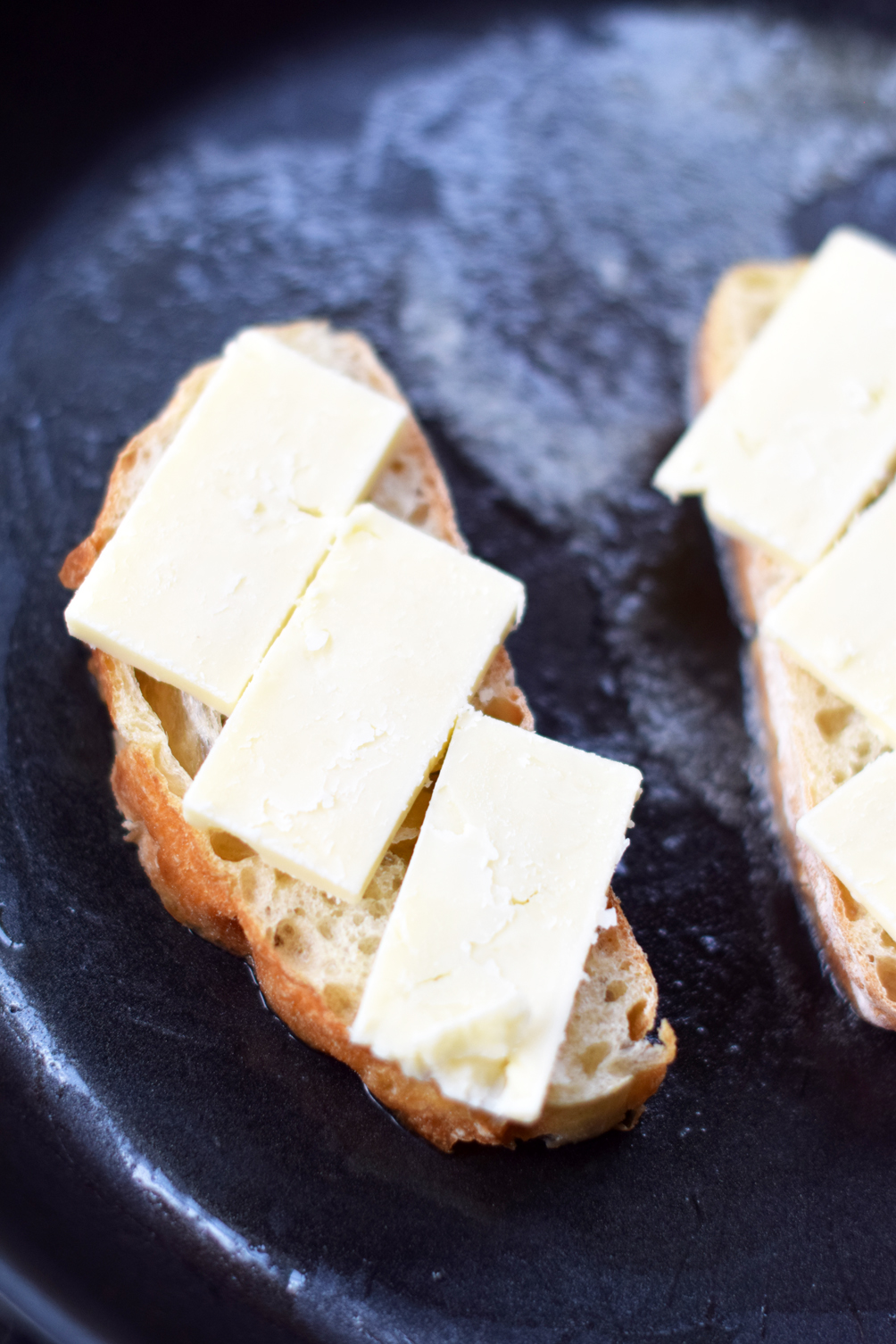 simple and savory grilled cheese recipe - one brass fox