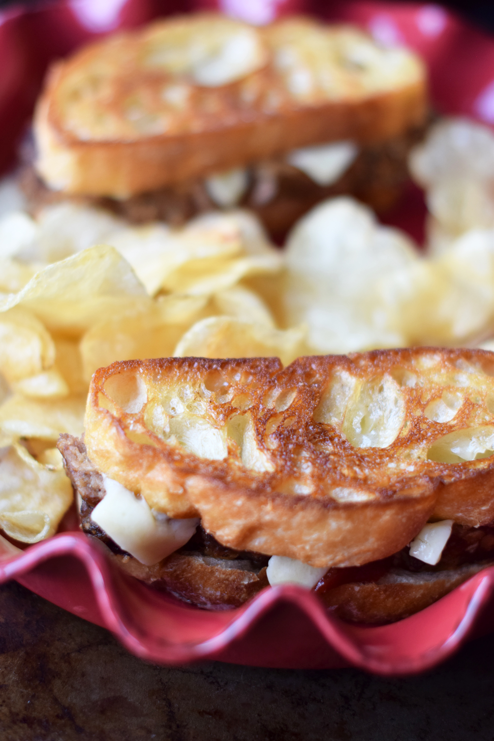 easy grilled cheese sandwich recipe - one brass fox