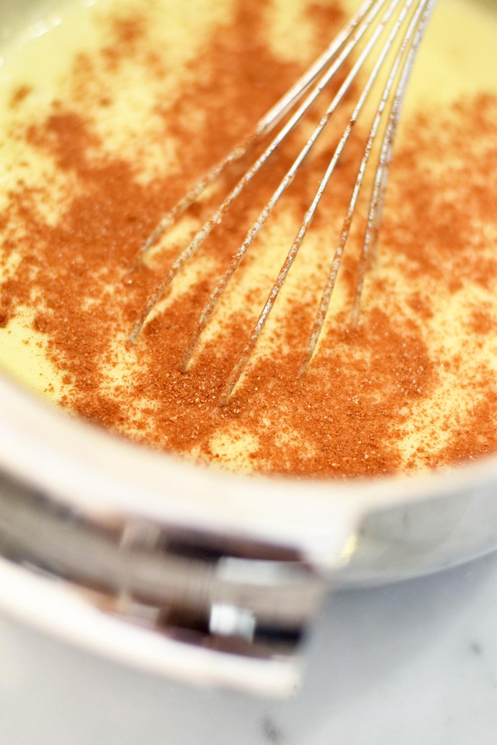 waffle maker cake