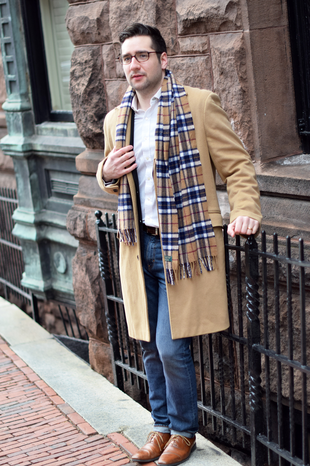 men's neutral outfit inspiration - one brass fox