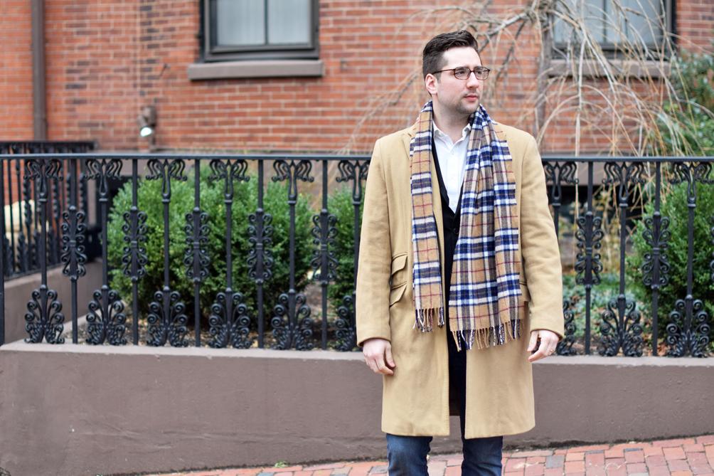men's classic winter style - one brass fox