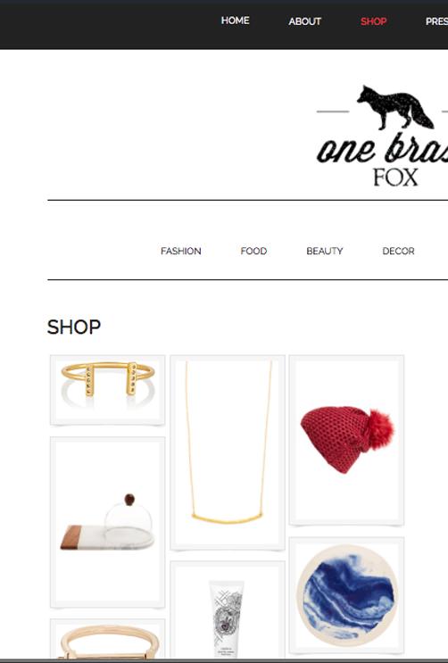 shop my closet - one brass fox lifestyle blog