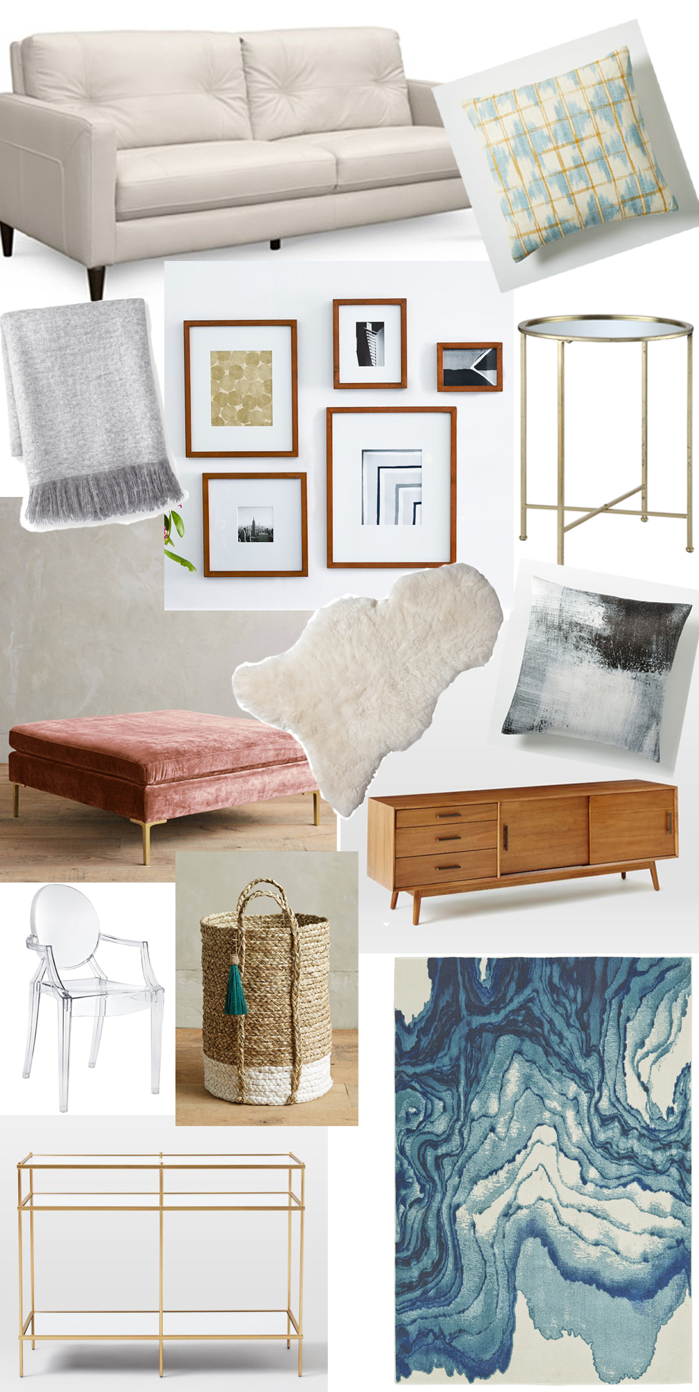 TV Room Inspiration - Home Decor - one brass fox
