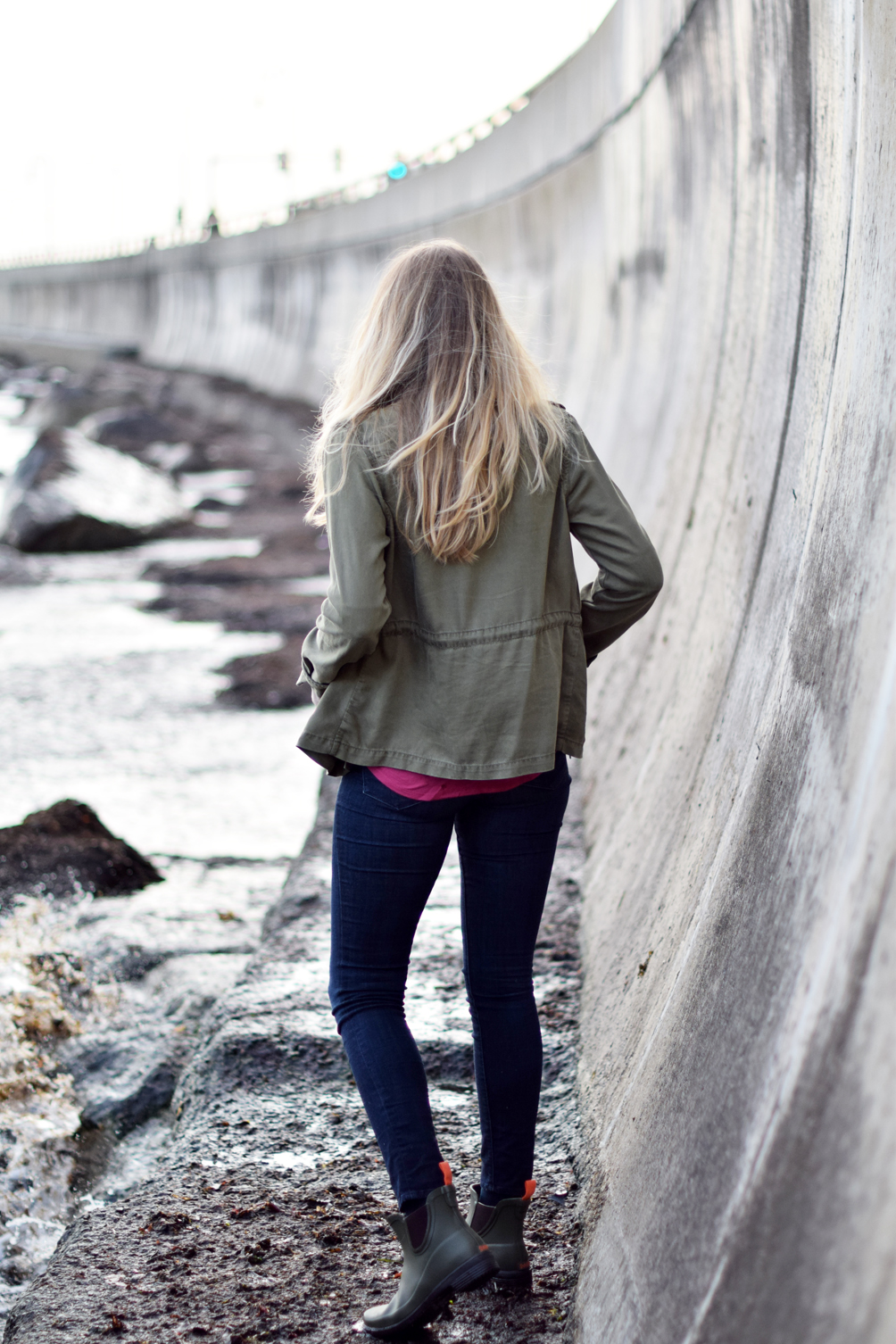 army green jacket for spring - one brass fox