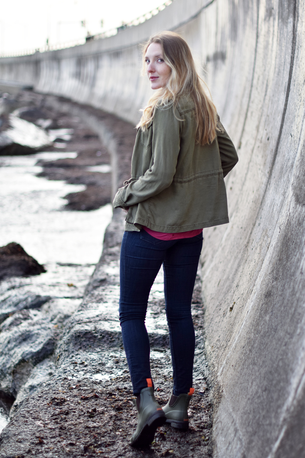 casual spring outfit inspiration - one brass fox