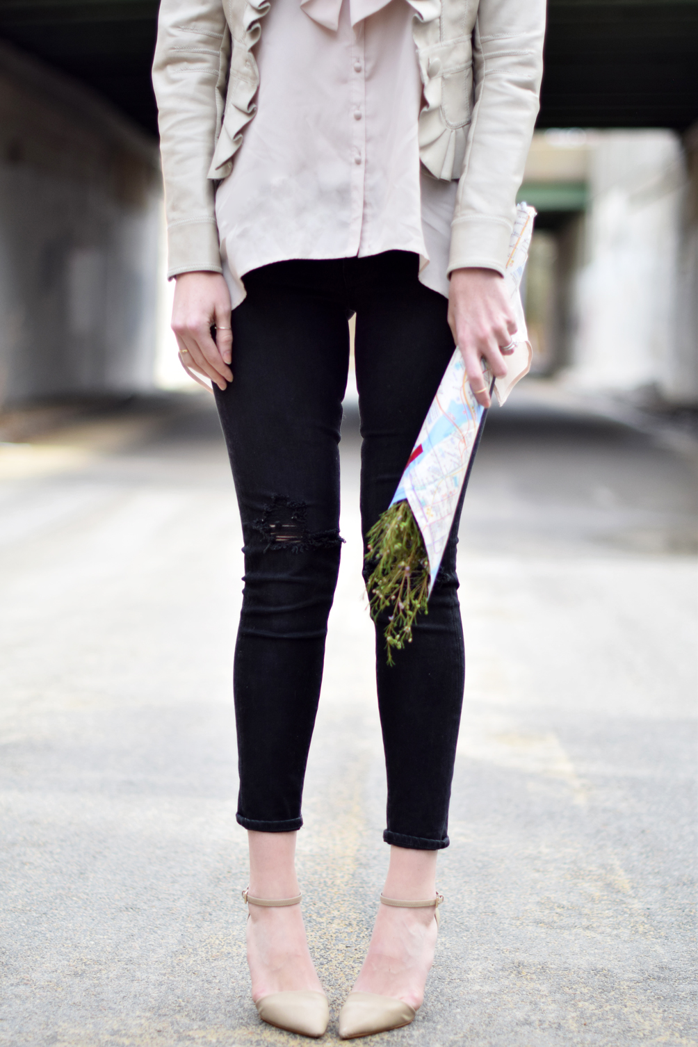 laidback + casual spring style inspiration - one brass fox