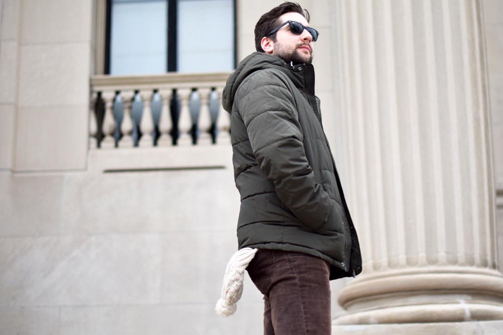 men's casual winter style - one brass fox