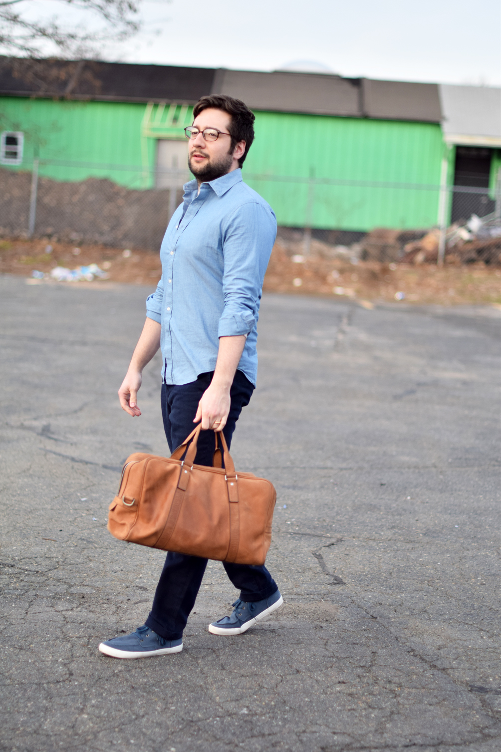 men's casual outfit inspiration - one brass fox