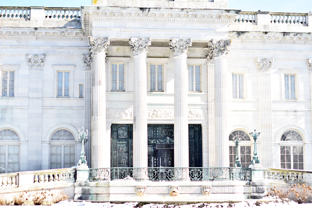 Marble House Mansion in Newport, Rhode Island