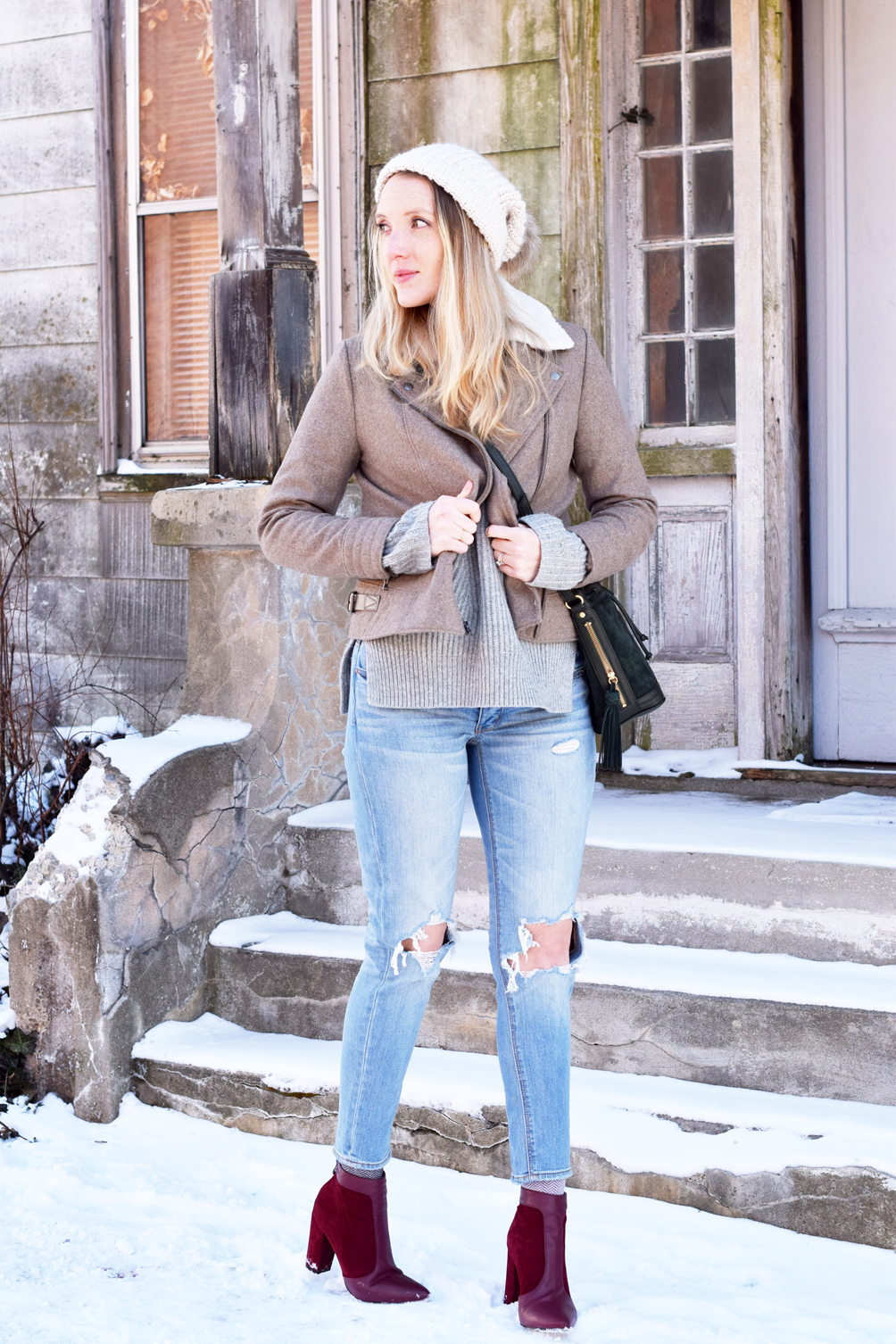 women's early spring style inspiration - one brass fox