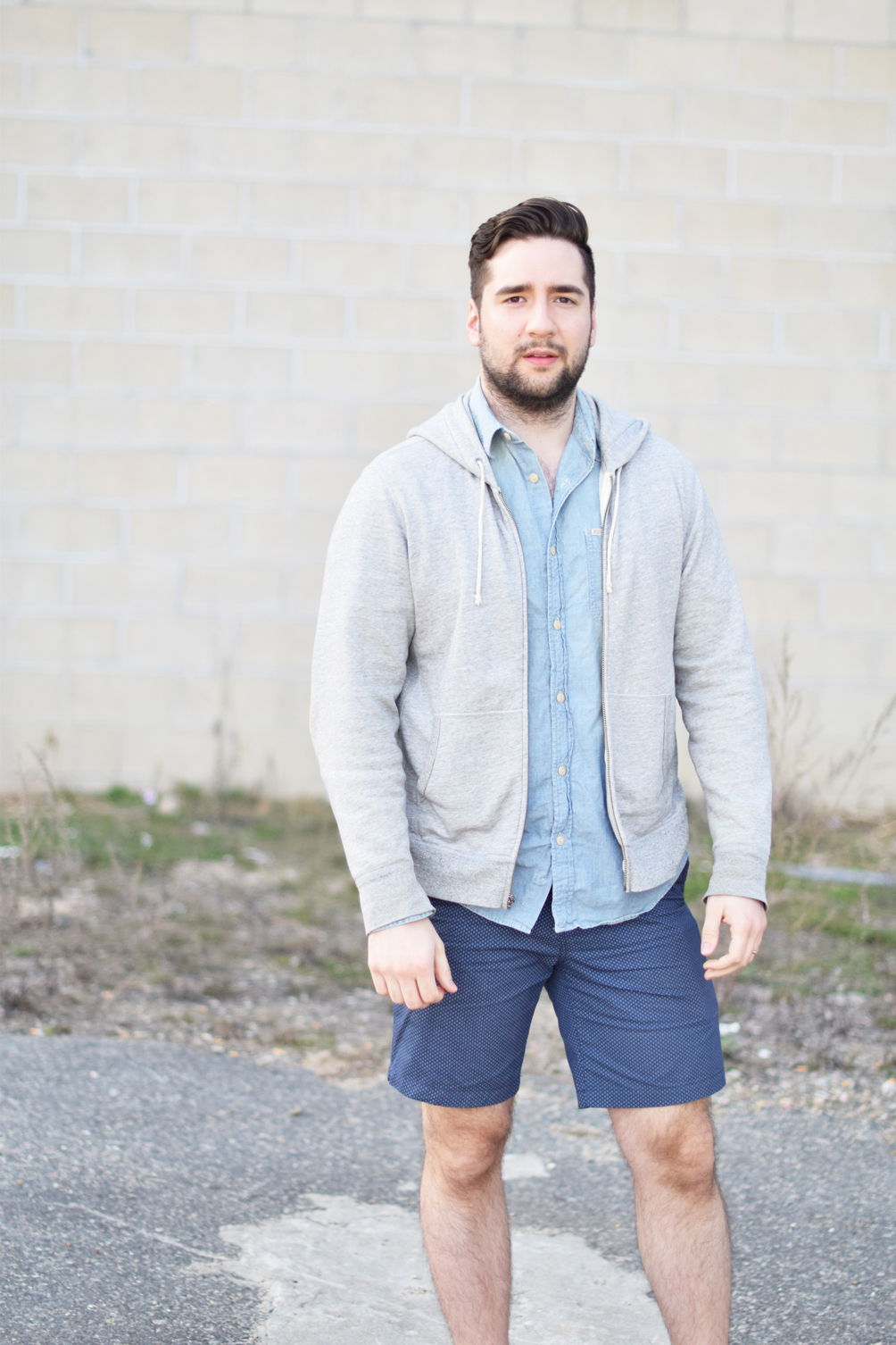 men's casual spring style outfit inspiration - one brass fox