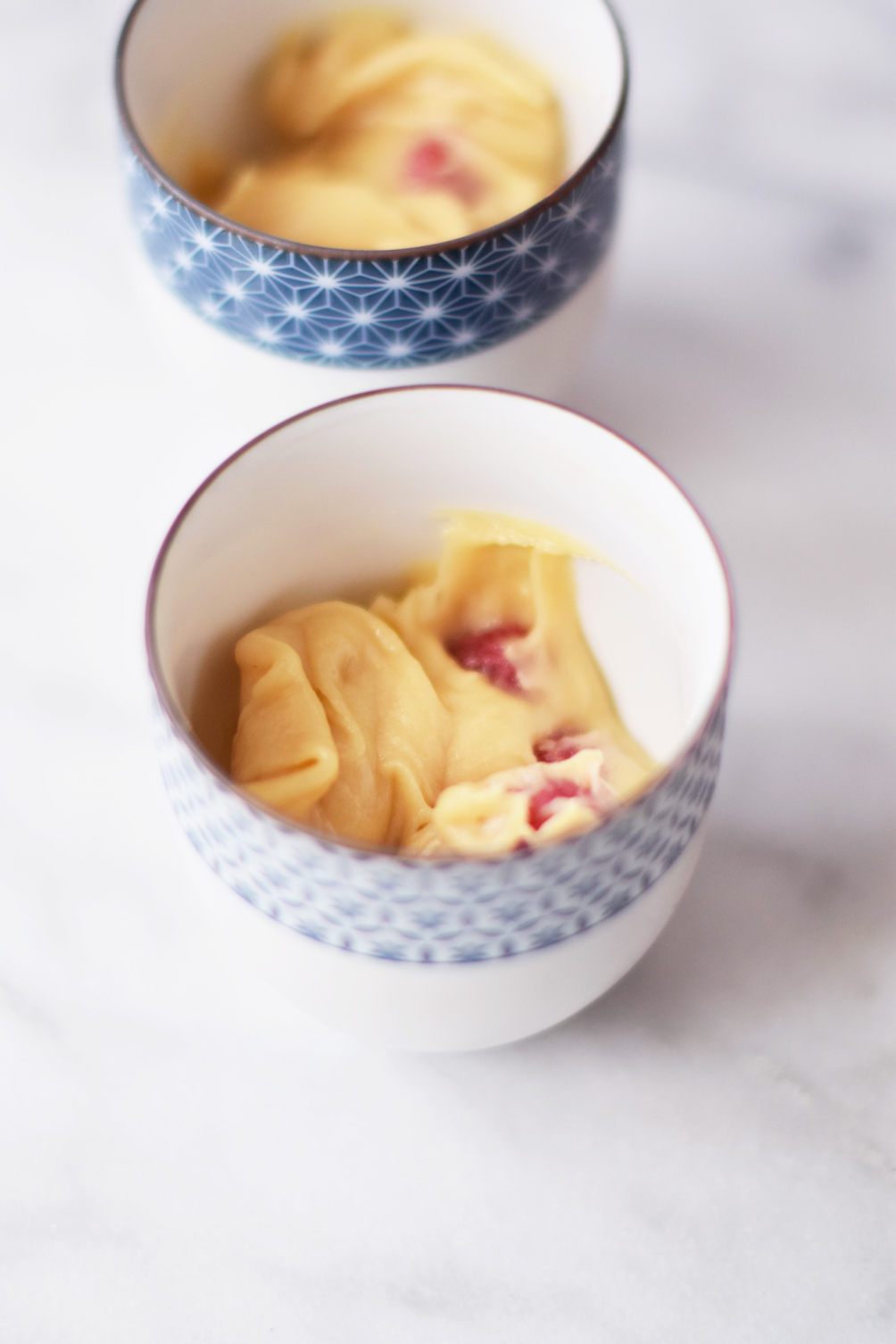raspberry mug cake recipe for two - one brass fox