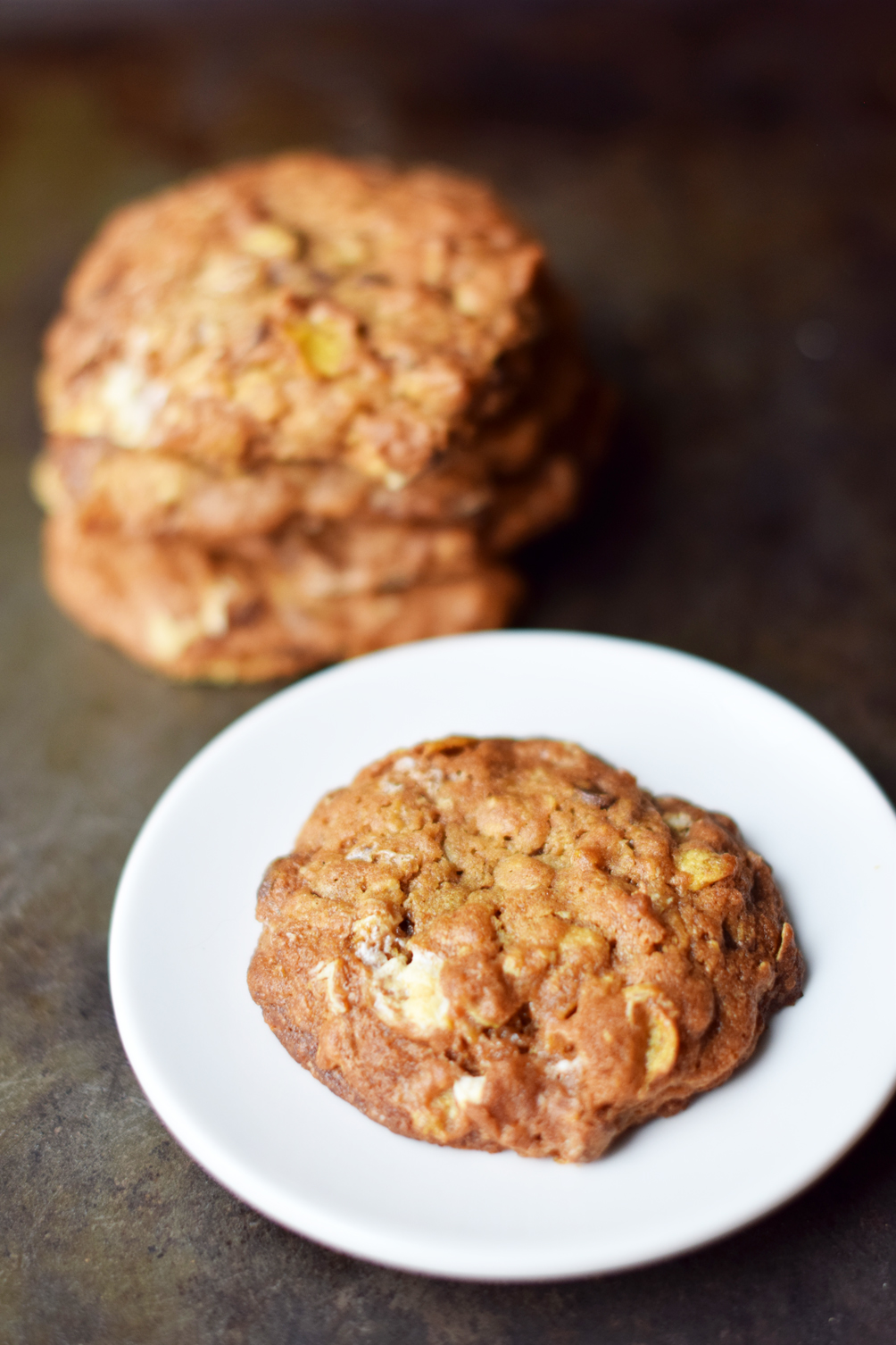 momofuku cornflake marshmallow cookies recipe - one brass fox