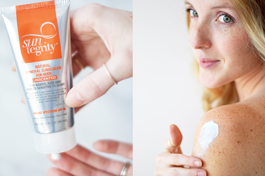 top five suncare products with follain